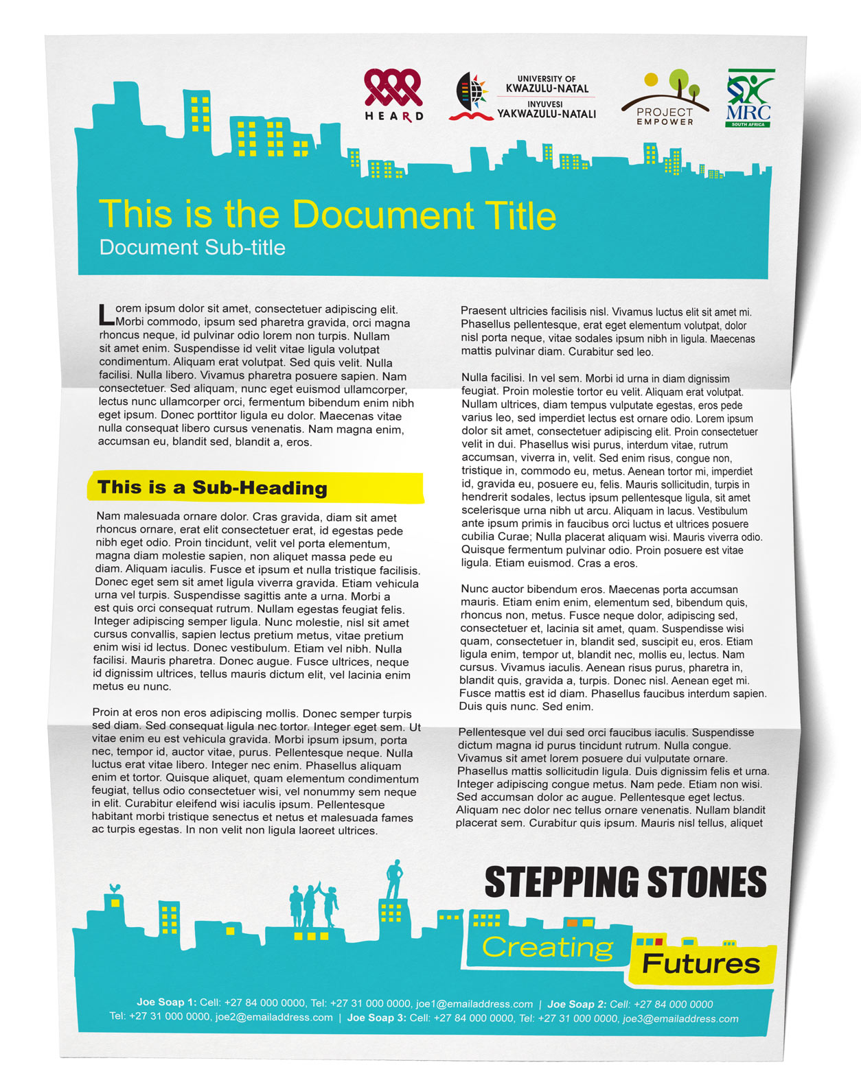 Tinassiti | HEARD – Stepping Stones Policy Brief